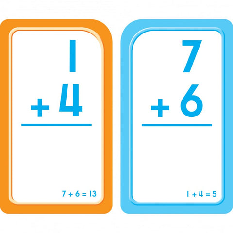 School Zone Flash Cards - Addition