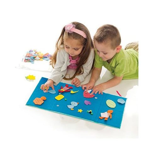 Creativity for Little Kids - My First Fun Felt Shapes
