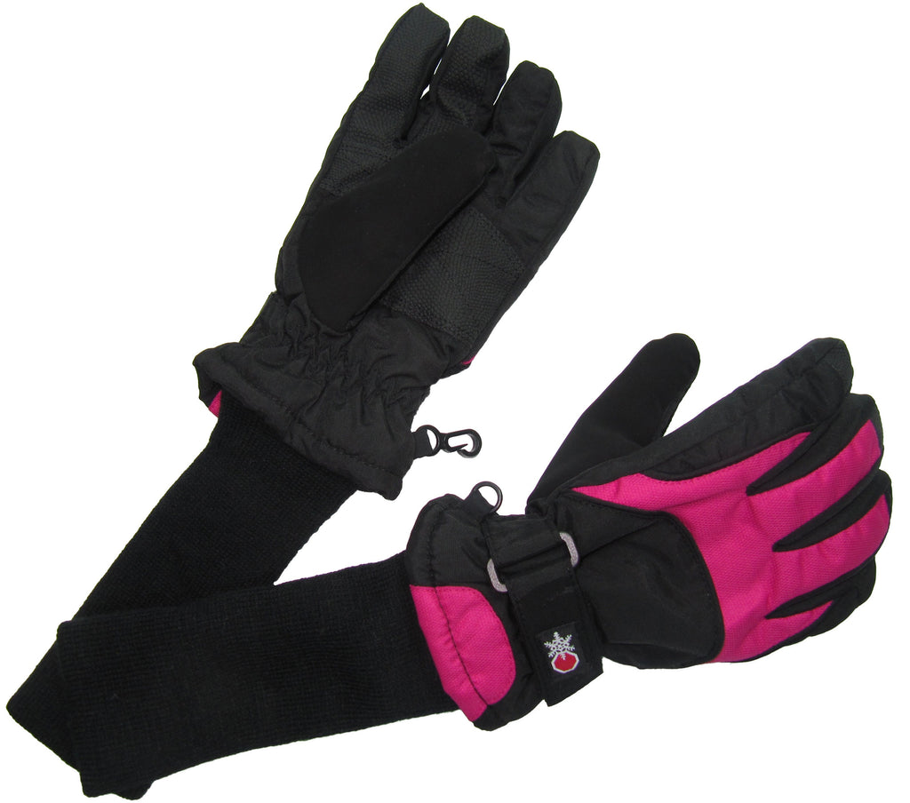 Snowstoppers Ski and Snow Board Gloves Pink
