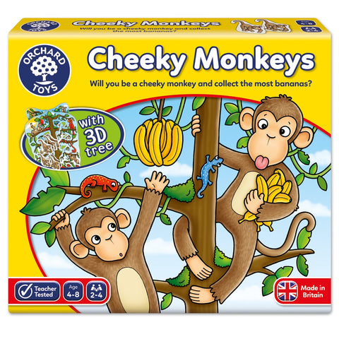 Cheeky Monkey - Orchard Toys Educational Game Ages 4 - 8 Years