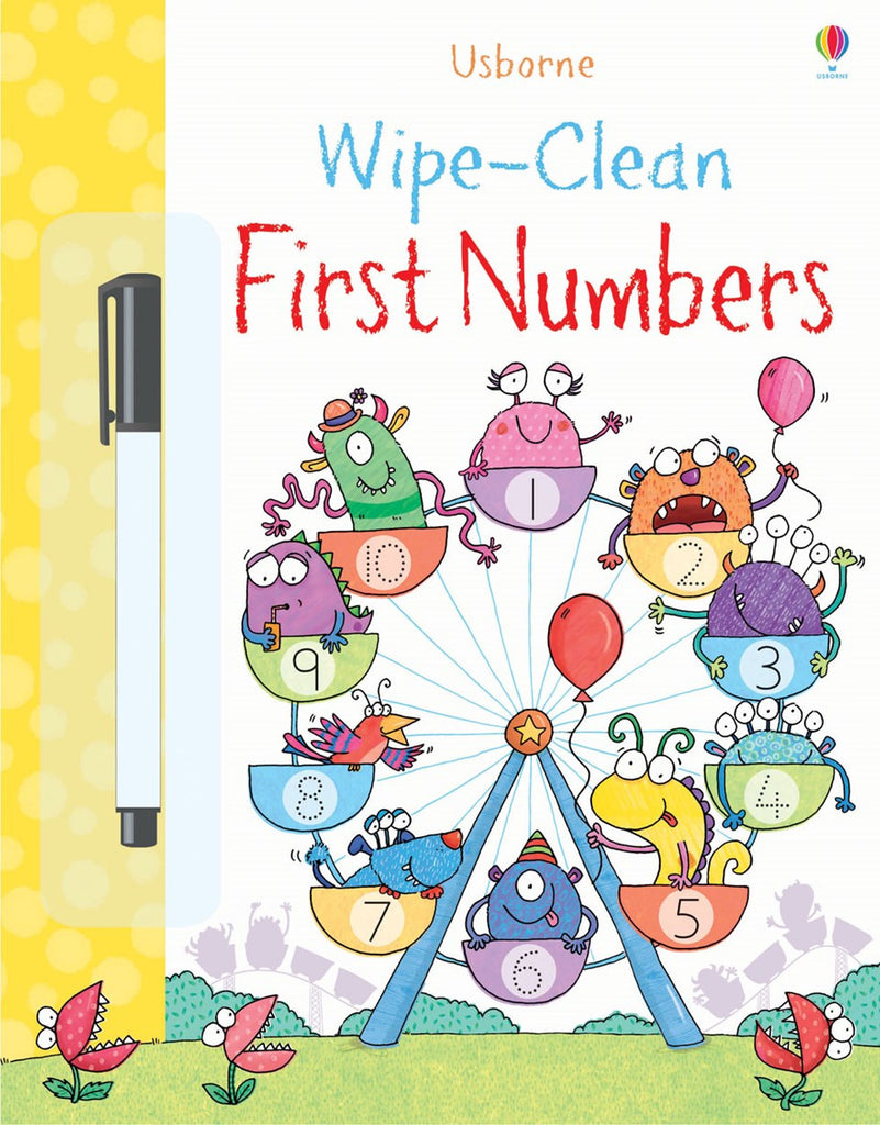 Wipe Clean First Numbers