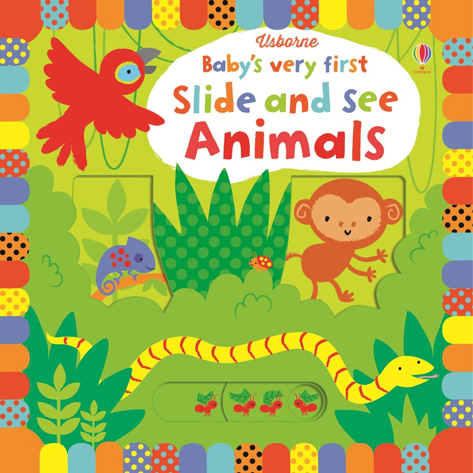 Baby's Very First Slide and See: Animals