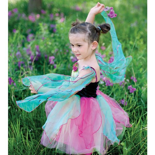 Fairy Blossom Dress with Wings