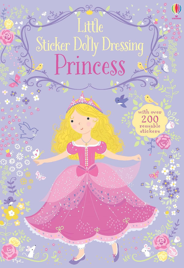 Little Sticker Dolly Dressing: Princess