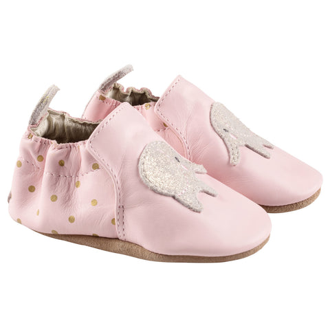 Robeez Soft Sole Infant Shoes - Ella Elephant