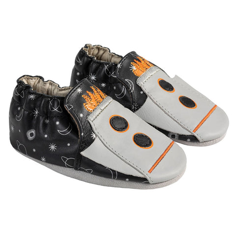 Robeez Piper Apollo Grey Soft Sole Shoes