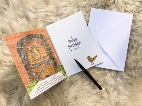 Birthday Story Card: Jack and the Beanstalk