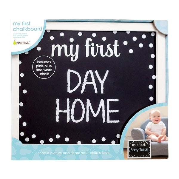 """My First"" Reusable Chalkboard by Pearhead"