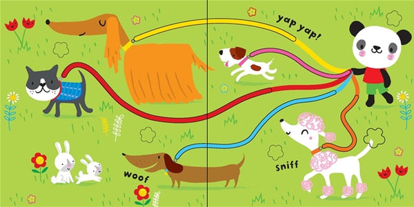 Baby's Very First Fingertrail Playbook: Cats and Dogs