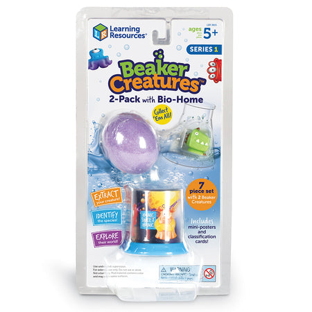 Learning Resources - Beaker Creatures 2 Pack with Bio Home