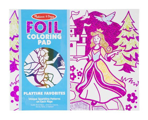 Foil Colouring Pad - Favourite Things