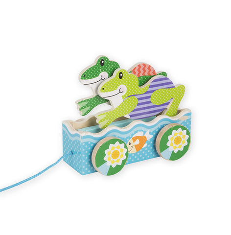 First Play Frogs Pull Toy