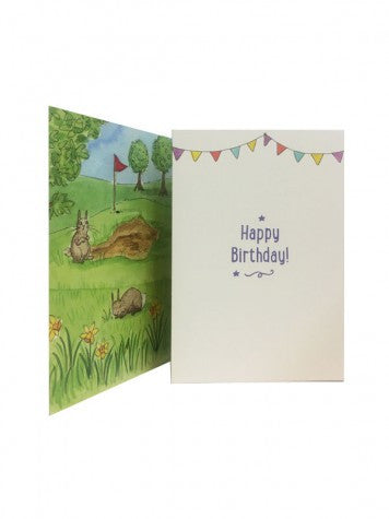 Birthday Story Card: The Princess and the Pea