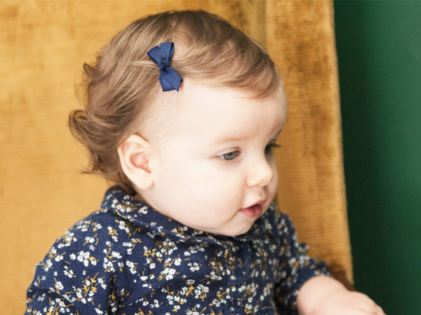 Baby Wisp Mini Latch Clip - Chelsea Boutique Bow