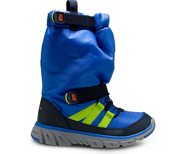 Striderite Made 2 Play Sneaker Boot - Winter Boot Blue