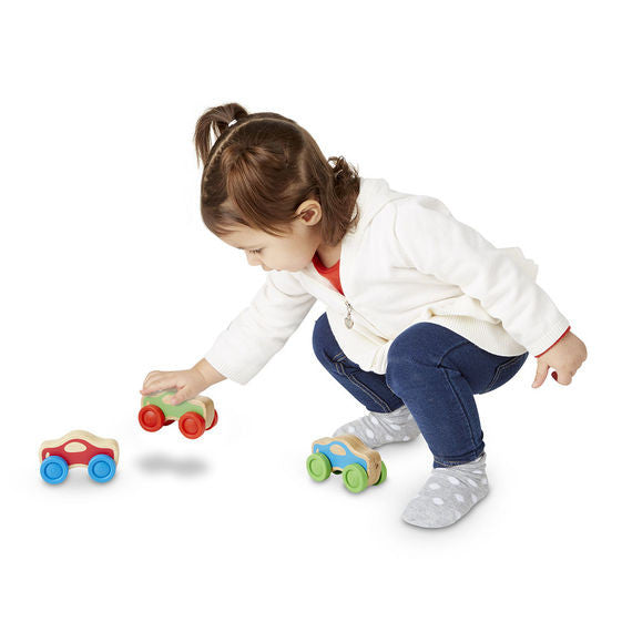 Wooden Stacking Cars Baby & Toddler Toy