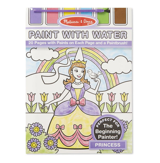 Princess paint with Water Kid's Art Pad