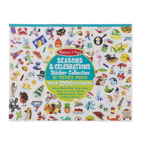 Celebrations, Seasons and More Sticker Collection - Over 1000 Stickers!