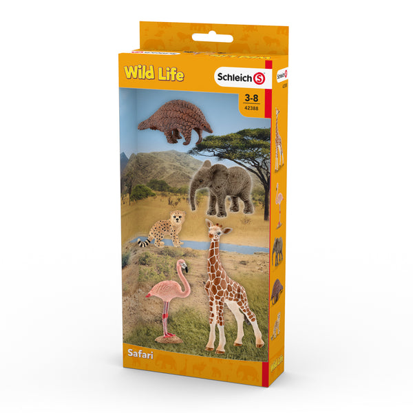 Schleich Wild Life Collection - Safari Animals 42388