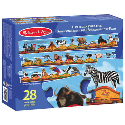 Alphabet Train Floor Puzzle - 28 Pieces