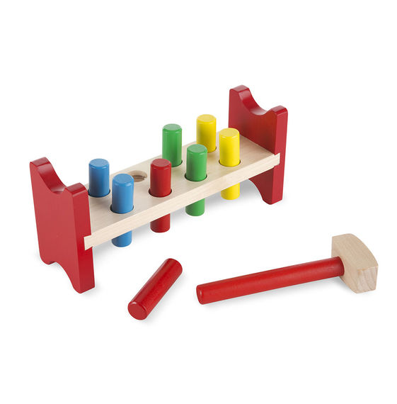 Wooden Pound a Peg - Classic Toy
