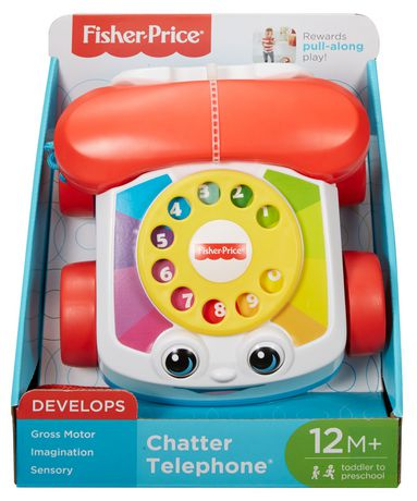 Fisher Price Pull Along Chatter Telephone