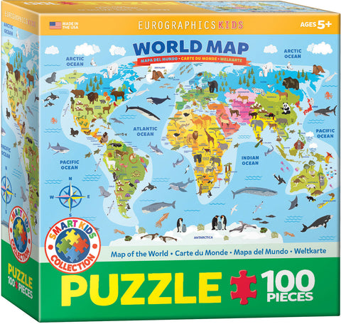 100 Piece Jigsaw Puzzle by Eurographics
