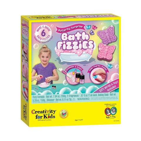 Butterfly Surprise Bath Fizzies - Make your own Bath Fizzies