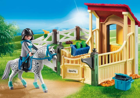 Playmobil Country - Horse Stable with Appaloosa (6935)