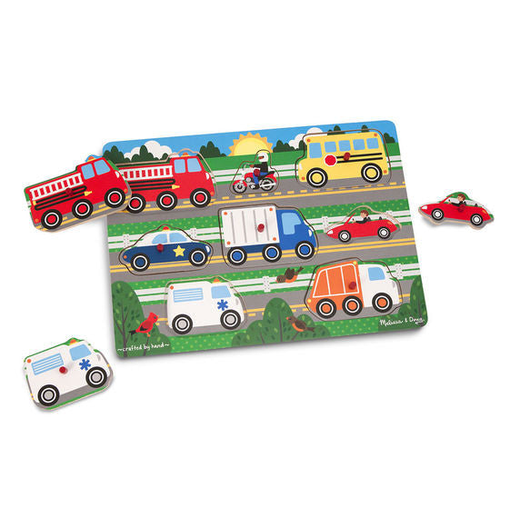 Peg Puzzle Vehicles