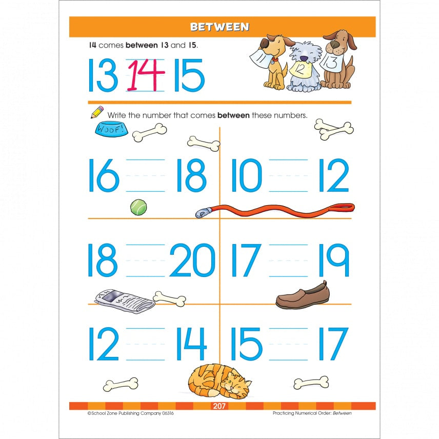 School Zone Work Book - Big Kindergarten Skills – Carousel Kids