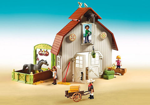 Playmobil - Spirit Riding Free - Barn with Pru, Lucky & Abigail (70118)