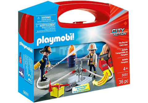 Fire Rescue Carry Case by Playmobil City Action (5651)