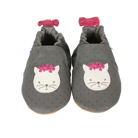 Robeez Miss Kitty Soft Sole Shoes