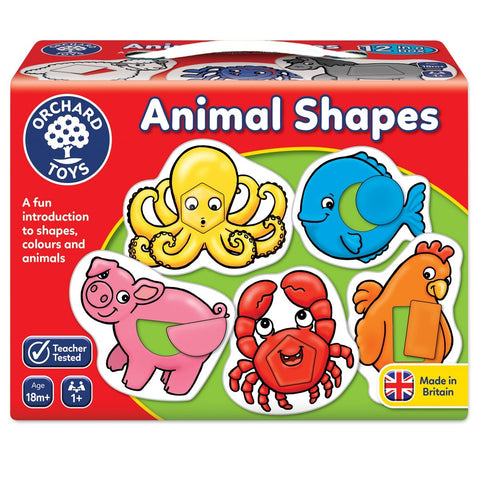 Animal Shapes First Game by Orchard Toys 18m +