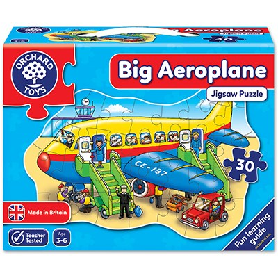 Big Areoplane Jigsaw Puzzle Orchard Toys - 3 Years +