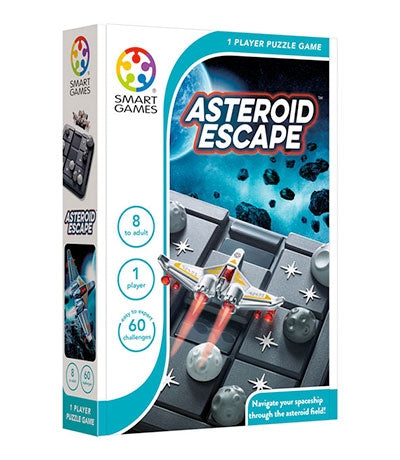 Asteroid Escape  - Smart Games 1 Player Puzzle Game 8 to Adult