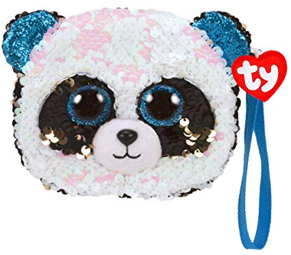 Ty Fashion Beanie Boo Magic Sequin Wristlet - Bamboo