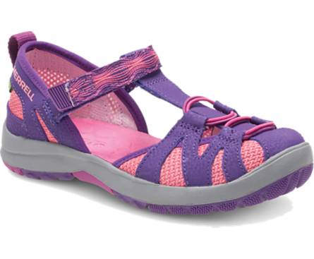 Merrell Hydro Monarch Junior Sandal - Berry / Purple