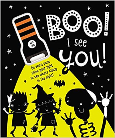 Boo! I See You! - Board Book with UV Flashlight