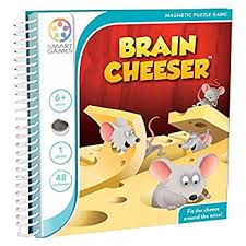 Brain Cheeser Magnetic Travel Game by Smart Games (Age 6+)