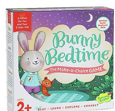 Bunny Bedtime - The Make a Choice Game for you and your 2 year old from Peaceable Kingdom