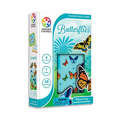 Butterflies - Smart Games 1 Player Puzzle Game