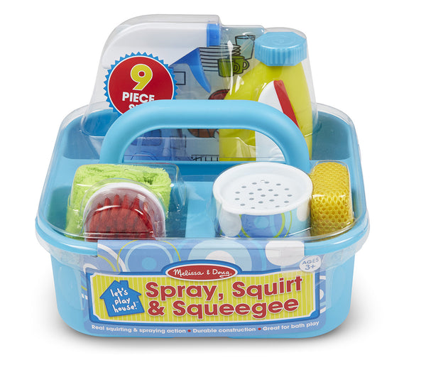 Let's Play House! Spray, Squirt & Squegee Play set