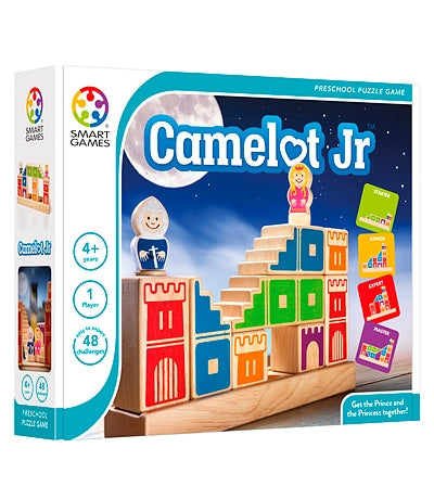 Camelot Junior - Smart Games 1 Player Puzzle Game 4 Years +