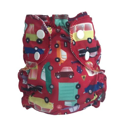 AppleCheeks Reusable Swim Diaper - Cars