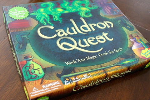 Cauldron Quest - A Co-Operative Game from Peaceable Kingdom