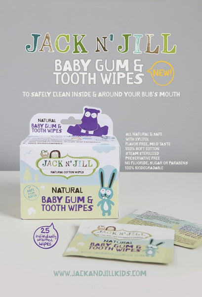 Jack n Jill Baby Gum and Tooth Wipes