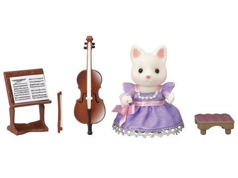Calico Critters Town Series - Cello Concert Set