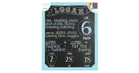 All About Baby Chalkboard by Pearhead